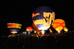 Colorado Balloon Classic Glow 2012 (Joe_B) Tags: park memorial coloradoballoonclassic