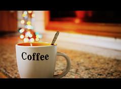Hot Coffee. (XaviAlvar) Tags: cup coffee café lights luces bokeh taza hotcoffee cafécaliente