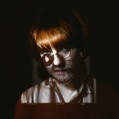 08 (fogsound) Tags: portrait selfportrait color digital self canon loseface 5dm2 xeniamelnik fogsound