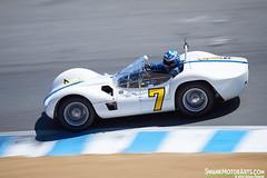1960 Maserati Tipo 61 'Birdcage' (autoidiodyssey) Tags: california usa cars birdcage race vintage monterey maserati lagunaseca 61 1960 tipo montereyhistorics 2012rolexmontereymotorsportsreunion jonathanfeiber