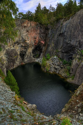 HODGE CLOSE QUARRY, TILBERTHWAITE VALLEY, LANGDALE, CUMBRIA, ENGLAND.