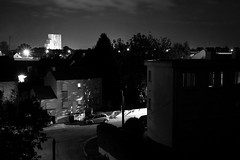 Saint-Herblain by night (gawel.fr) Tags: bw night nuit