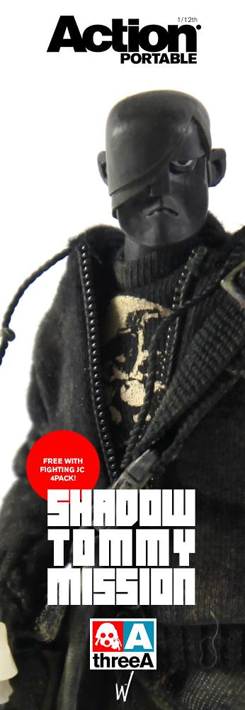 threeA - Action Portable Fighting JC + Special guest