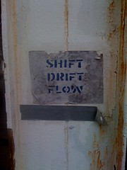 (VVVvoy) Tags: life chicago flow duct stencil grafitti shift brain tape instructions drift