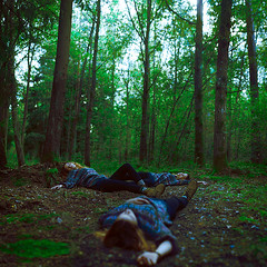 Six Left (Rasmus Sthl) Tags: life portrait girl forest death three woods fineart nine brooke six drmartens shaden losts brookeshaden