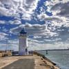 HDR Lighthouse (George Nutulescu) Tags: travel light sea lighthouse seascape nikon historic romania hdr watchtower d40 innamoramento nikond40 superaplus vertorama spiritofphotography outstandingromanianphotographers