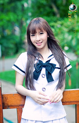 Smile (Hatphoenix) Tags: cute girl beautiful beauty angel asian model asia charm teen lovely hatphoenix