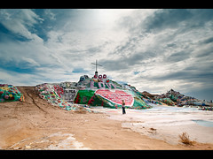 Salvation Mountain (Muzzlehatch) Tags: california mountain colorado desert salvation niland