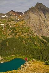 On High (Matt Champlin) Tags: travel vacation holiday canon amazing colorado hiking hike alpine incredible idyllic onthemove 2012 sanjuanmountains uphigh lowerbluelake mtsneffelswildernessarea