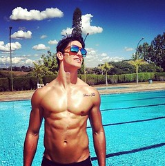 Man by pool someone needs to teach me how to swim WOW (Jaclyn Diva) Tags: models handsome handsomeguys hunkalicious gorgeousmen handsomemale hunkymen jaclyndiva