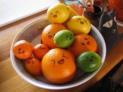 IMG_5938 (Cheeseness) Tags: orange stuffedtoy lemon mandarin lime