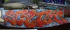STATIC UC (Reckless Artist) Tags: urban west art abandoned minnesota wall canon photography graffiti photo midwest paint artist graf cement stpaul minneapolis spray mpls photograph tc twincities graff mn minn mid reckless recklessartist aerososol