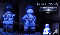 Halo 4 - Cortana (MGF Customs/Reviews) Tags: dawn lego infinity chief 4 halo master requiem forward spartan cortana unto promethean
