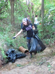 During our Berkshire Area and Tributary Cleanup of Bread and Cheese Creek (9/15/12) (Clean Bread and Cheese Creek) Tags: trash historic erosion litter help sediment pollution environment volunteer berkshire warof1812 epa dumping donate chesapeakebay dundalk mikesharp streamrestoration stormwatermanagement battleofnorthpoint cleanbreadandcheesecreek oceanconservancy nationalpubliclandsday nrdcpix