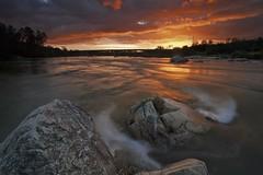 Sunset at Lake Natoma --- Folsom, California (ernogy) Tags: california longexposure bridge sunset northerncalifornia landscape folsom boulder filter lee sacramento grad lakenatoma gnd ernogy
