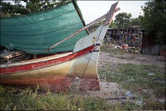 * (-nasruddinmukhtar-) Tags: film beach analog port 35mm boat shoreline malaysia analogue 135 kelantan contaxt2 bachok carlzeisssonnart38mmf28 nasruddin nasruddinmukhtar efinitisuperuxi200