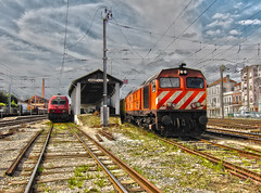LD 1963 | LE 5625 | Pampilhosa (Fbio-Pires) Tags: portugal electric train diesel siemens 5600 locomotive cp hdr 1963 1960 comboio bombardier ferrovia locomotiva elctrica 5625 kraussmaffei pampilhosa eurosprinter linhadabeiraalta sorefame cp5600 linhadonorte cpcarga terminalintermodal tracoelctrica tracodiesel cp5625 cp1960 cp1963