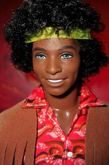 Tag game: Wanna be a Hippie (farmspeedracer) Tags: male men doll dolls afro ken barbie handsome hunk retro steven aa collector playline