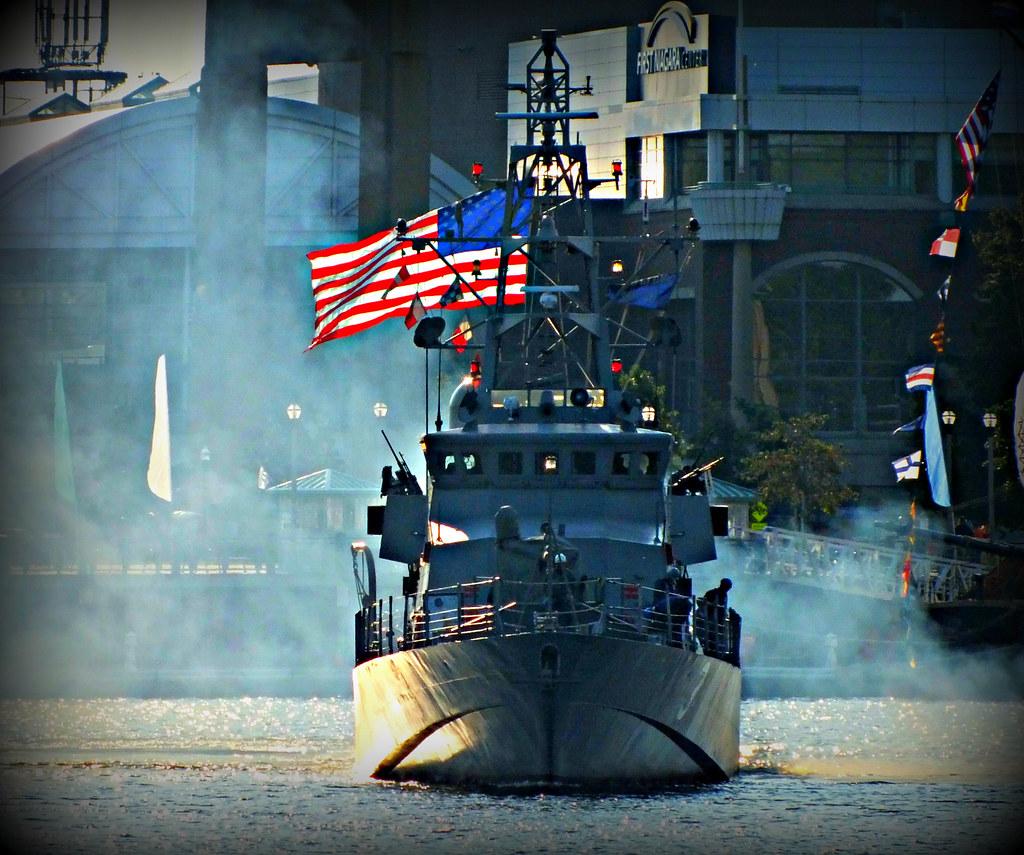 USS Hurricane Departing Buffalo