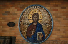 2012: Goulburn NSW #8 (dominotic) Tags: church mosaic australia tiles nsw newsouthwales religiousimage goulburn