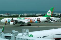 EVA Air | Airbus A330-300 | B-16333 | Hello Kitty livery | Taipei Taoyuan (Dennis HKG) Tags: eva br evaair airbus a330 a330300 airbusa330 airbusa330300 aircraft airplane airport plane planespotting taipei taoyuan rctp tpe b16333 staralliance canon 7d 70200