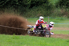 Scramble (Tag1066) Tags: galhampton somerset scramble motocross racing sidecar dust dirt bike rider