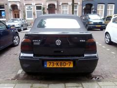 Volkswagen Golf 4 cabrio 2002 nr2032 (a.k.a. Ardy) Tags: softtop 73kbd7