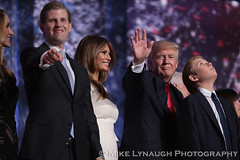 Donald Trump's Family - 2016 Republican National Convention in Cleveland, OH #RNCinCLE (mikelynaugh) Tags: rncincle republicannationalconvention rnc republican trump convention cleveland americafirst makeamericagreatagain politics politicalrally ohio trump2016 donaldtrumpsfamily