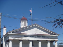 Top Side View Of The Sussex County Courthouse, April 17,2016 (rustyrust1996) Tags: sussexcounty newton newjersey courthouse