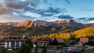 Golden Hour at Mountain Village