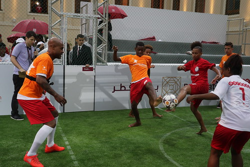 """Legendary Match"" at Bayt Qatar in Rio"