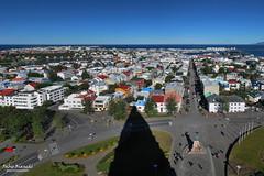 Reykjavik Panorama (Fabio Bianchi 83) Tags: reykjavik view panorama vista islanda iceland hallgrimskirkja summer estate citt city town downtown sland