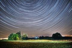 Star trails (kewl) Tags: 8356 garnich ltzebuerg night stars startrail luxembourg