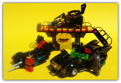lego Batman (peter-ray) Tags: lego batman robin moc brick shi fii fantasy comics dc peter ray bat mobile wing byke yellow space ship sky figther logo mini figure minifigure samsung nx 2000