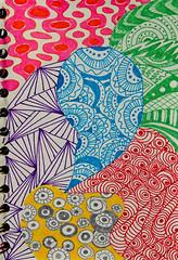 Little Wing (BKHagar *Kim*) Tags: bkhagar doodle design art artwork pen color colorful zentangle littlewing sting jimihendrix jamie memorial jamieleighmeyer