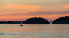 Sailing at Sunset (erickPDX) Tags: sanjuanislands orcasisland demorcas washington pnw