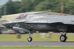 Lockheed Martin F-35B Lightning II 168727 VM-19 USMC VMFAT-501 RIAT 2016 (liam.killington) Tags: lockheedmartin f35b lightningii 168727 vm19 usmc vmfat501 riat 2016 nikon d7100 300mm f4 nikkor fastjet lightening raffairford