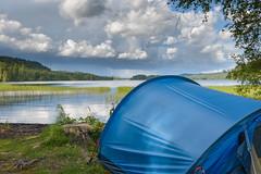 Hiking in Koli (tahkani) Tags: koli finland hiking backpacking tent landscape color nature woods summer colorful colourful 2470 28 nikon d610
