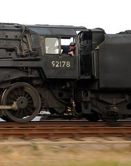 GCR 49706cr (kgvuk) Tags: gcr greatcentralrailway trains railways locomotive steamlocomotive 9f 2100 92212 92178 swithlandsidings