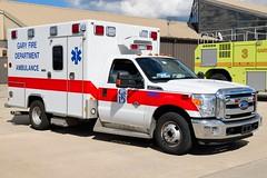 Gary Fire Department Ambulance (nick123n) Tags: arff ambulance emergency fire truck rig gary fd indiana airport crash