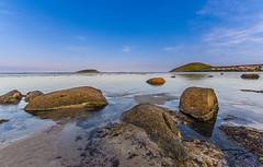 The Bluff (mattsecombe) Tags: bluff victorharbor southaustralia australia water sea sand seascape landscape waterscape rocks island colour clouds sky blue clarity nikon d750 sharpness beauty amazing holiday travel