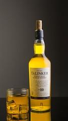 Talisker Single Malt (Vinod_Sunder) Tags: talisker singlemalt whisky tabletop icecubes