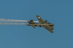 RS_160911_737.jpg (Gren269) Tags: b17 rafduxford ww2 aircraftportfolio smoke flyingfortress heavy bomber tribute eighthairforce memphisbelle airshow sallyb 2016 usaaf