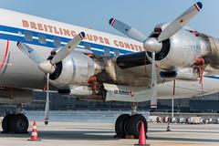 Super Constellation Flyers Lockheed C-121C Super Constellation HB-RSC (amer.konjhodzic) Tags: super constellation flyers lockheed c121c hbrsc vie loww