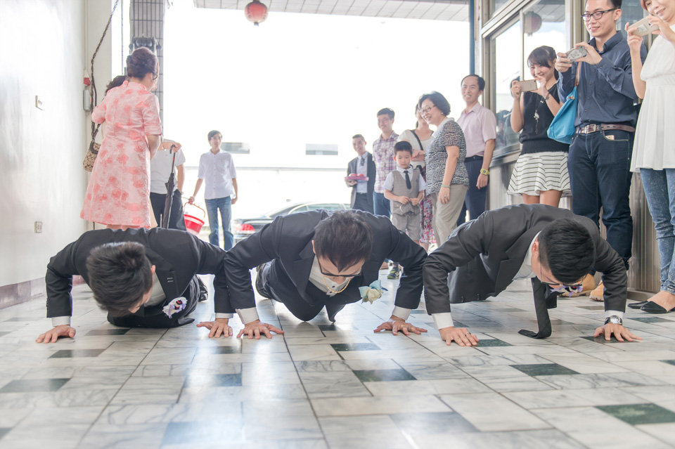 台南婚攝 情定婚宴城堡永康館 婚禮紀錄 C & V 039