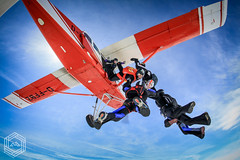 8 way FS (mathieufournel) Tags: skydiving sky flying jumping blueskies action sports