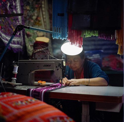 Hmong seamstress - Doi Suthep, Chiang Mai, Thailand