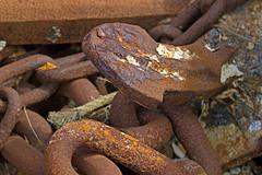 Nautical 3 (redladyofark) Tags: nautical sea ship anchor chain winch shackle chandlery