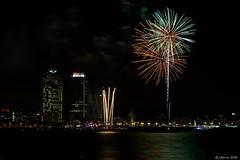 Merc 2016 - El Vaquero Pirotcnicos - Fireworks (j.borras) Tags: nikon autumn barcelona bcn fireworks night photography merce 2016 festival merce2016 merc2016 vaquero pirotcnicos bogot espig gas d7200