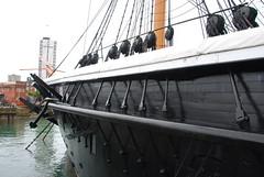 HMS Warrior - Rope Pulleys Port Side (Le Monde1) Tags: england nikon iron hampshire steam sail warship 1860 royalnavy d60 hmswarrior portsmouthhistoricdockyard lemonde1